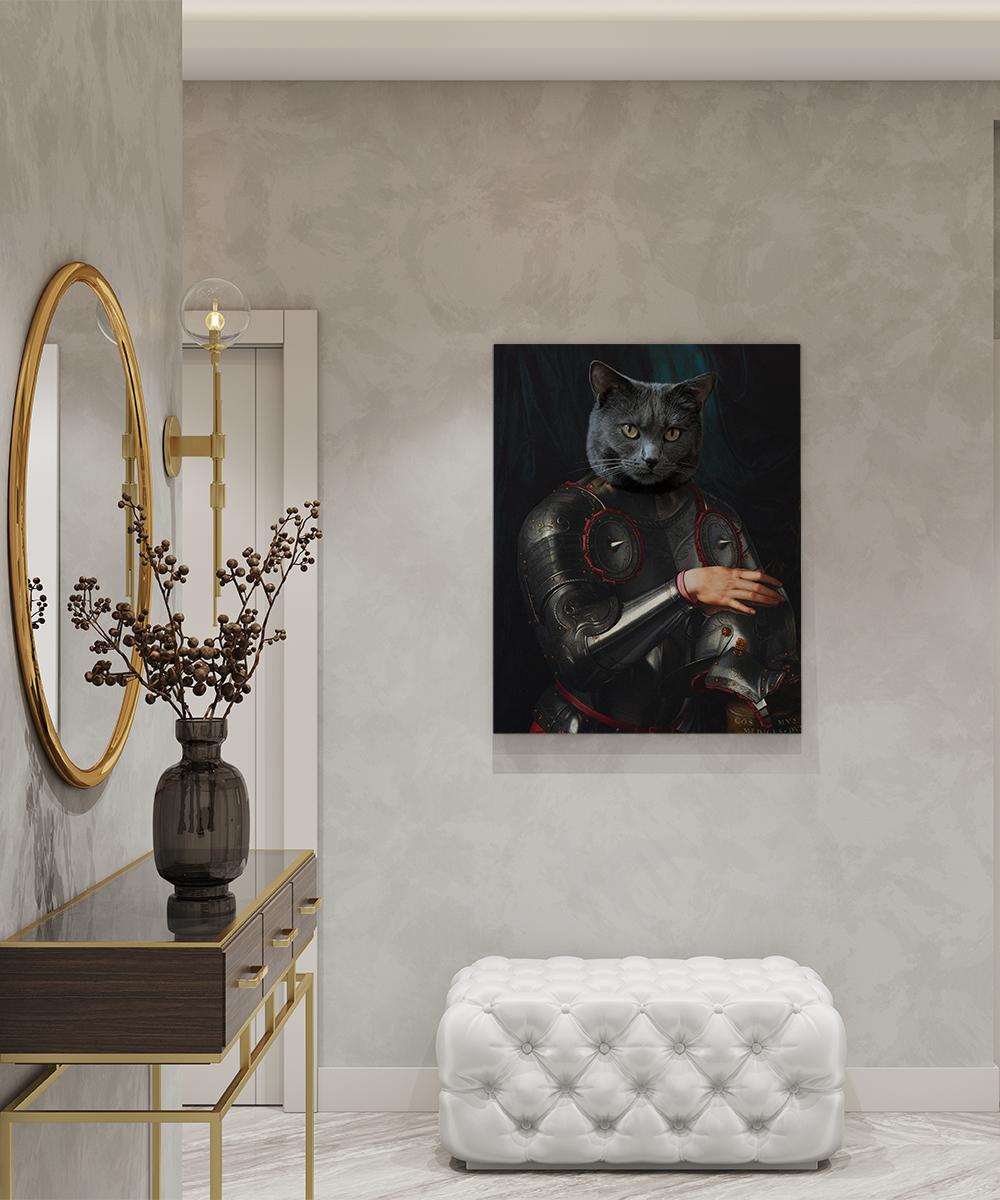 Tablou canvas personalizat Cosimo de Medici in Armour