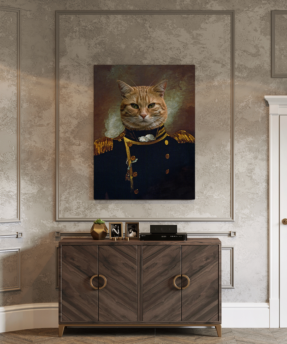 Tablou canvas personalizat Oliver Hazard Perry