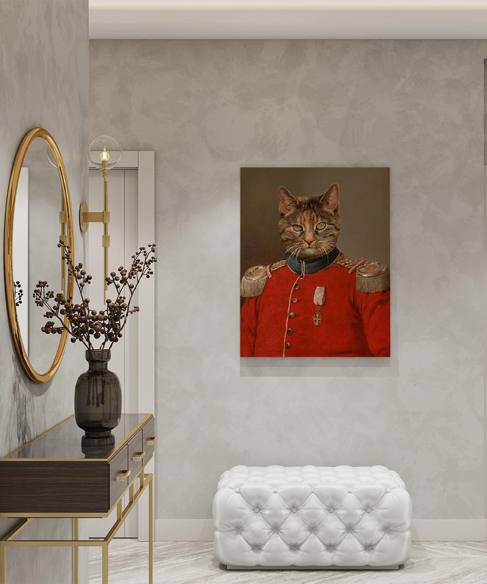 Tablou canvas personalizat Colonel von Darcheus