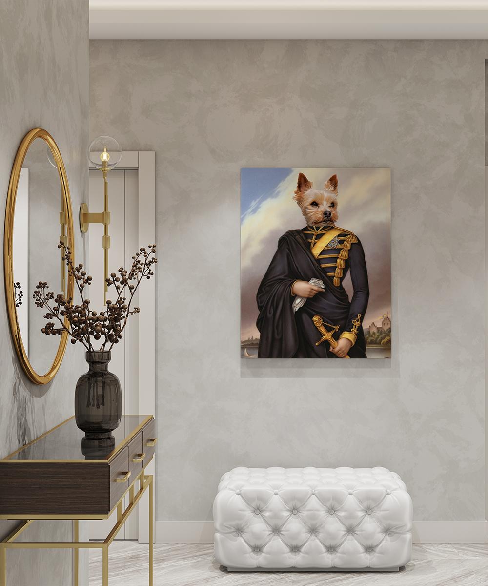 Tablou canvas personalizat Karl XV